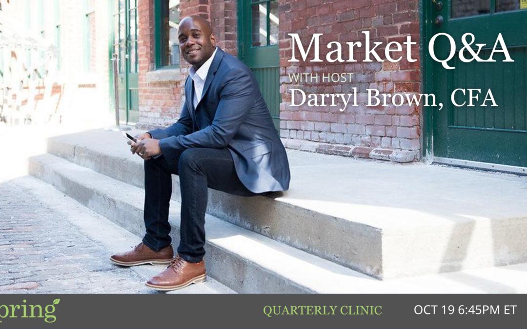 Market 2020 Clinic